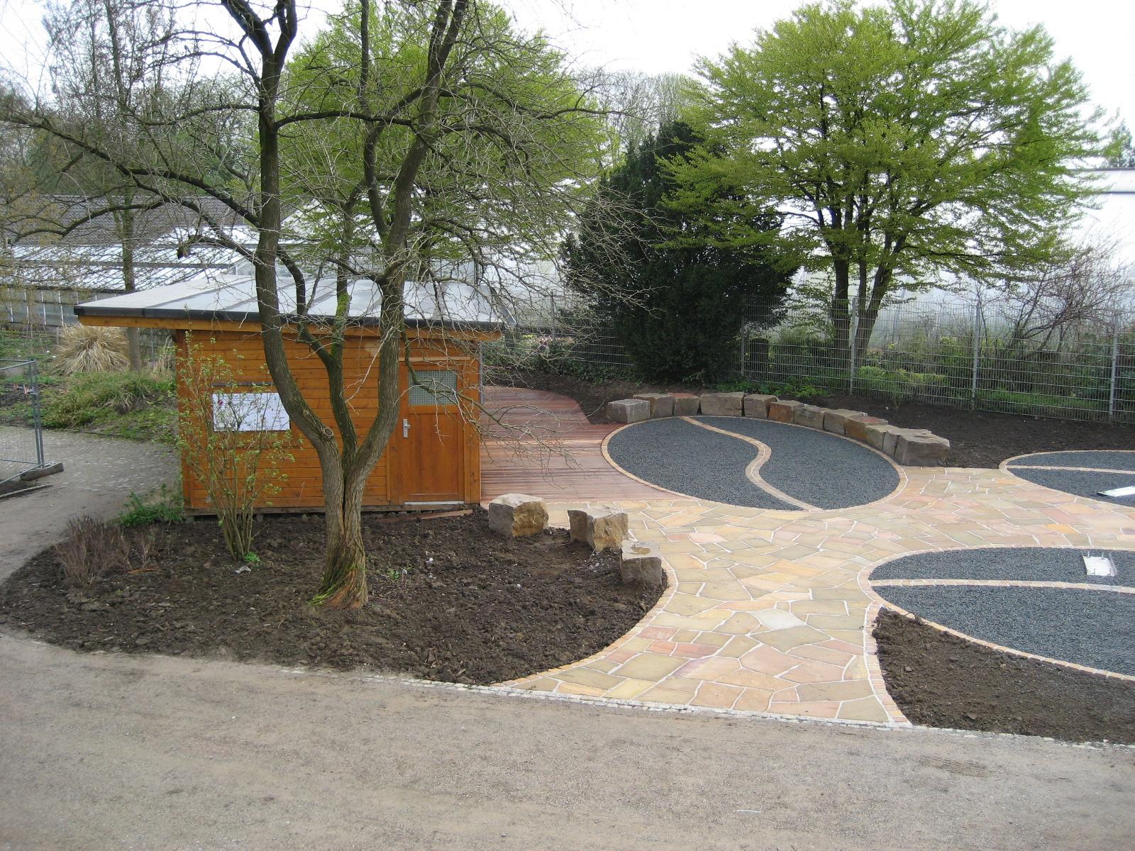 Garten und landschaftsbau vorher nachher